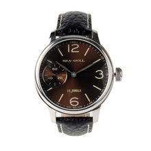 Load image into Gallery viewer, Seagull hand wind st36 movement 44mm mechanical watch 819.77.5000