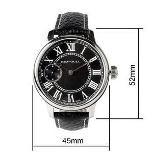 Seagull roman numberals mechanical watch 45mm 5119 series