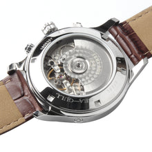 Load image into Gallery viewer, Seagull Mechanical Watch Auto Date Week Display  Guilloche Arabic Numerals Luminous Hands Automatic Mechanical Men's Watch 5114 sapphire crystal