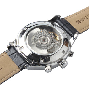 Seagull day date display self winding automatic mechanical watch 819.27.5115