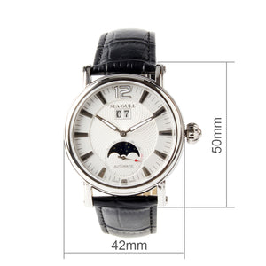 Seagull Moon Phase Auto Date Self Wind Automatic Mechanical Watch M308s