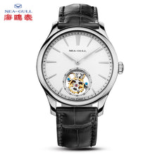 Load image into Gallery viewer, Seagull Tourbillon Watch ST8000 Movement Manual Wind Mechanical Men's Watch 818.930 with original certification paper toubillon