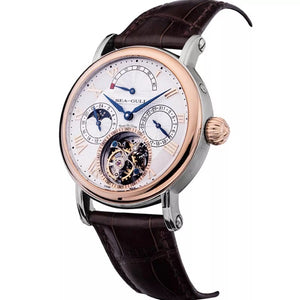 Seagull Tourbillon Power Reserve Day Night IndicatorMechanical Men's Watch 218.907 Manual Wind with certification paper