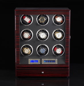 watch winder with light auto open stop