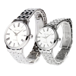 seagull couple watch automatic