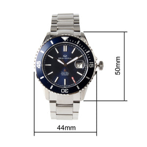 Seagull Ocean Star Automatic Men's Diving Watch 816.523 mechanical diver 200m water resistant sapphire crystal