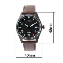 Load image into Gallery viewer, Seagull Classic Vintage Pilot watch Leather Strap Men Watches Luminous Hands Self Wind Automatic Men's Mehanical Watch 819.583H