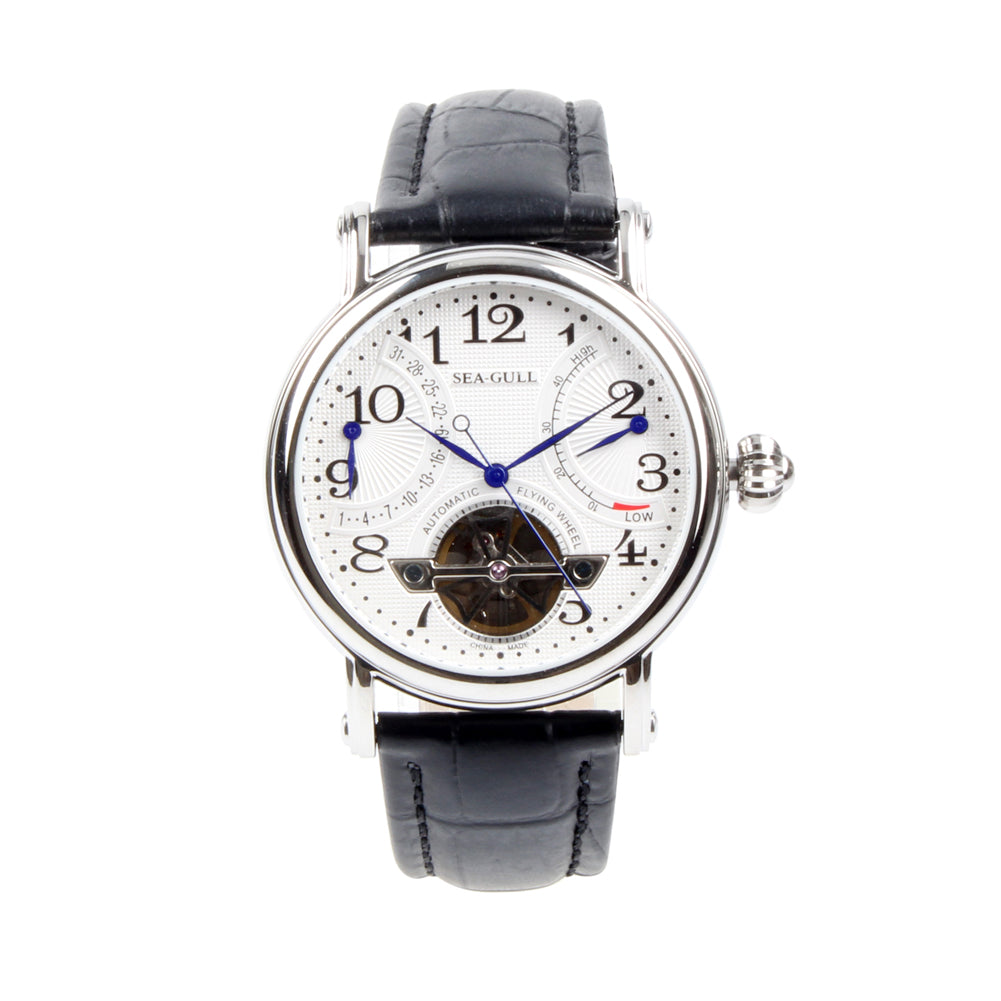 automatic watch seagull date auto power reserve m172s