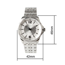 Load image into Gallery viewer, Seagull ST2130 movement automatic self winding watch 816.355 white dial sapphire crystal 42mm