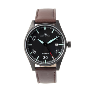 pilot watch seagull automatic mechanical men sapphire crystal