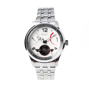power reserve display date indicator seagull automatic 40mm self wind watch d816.350
