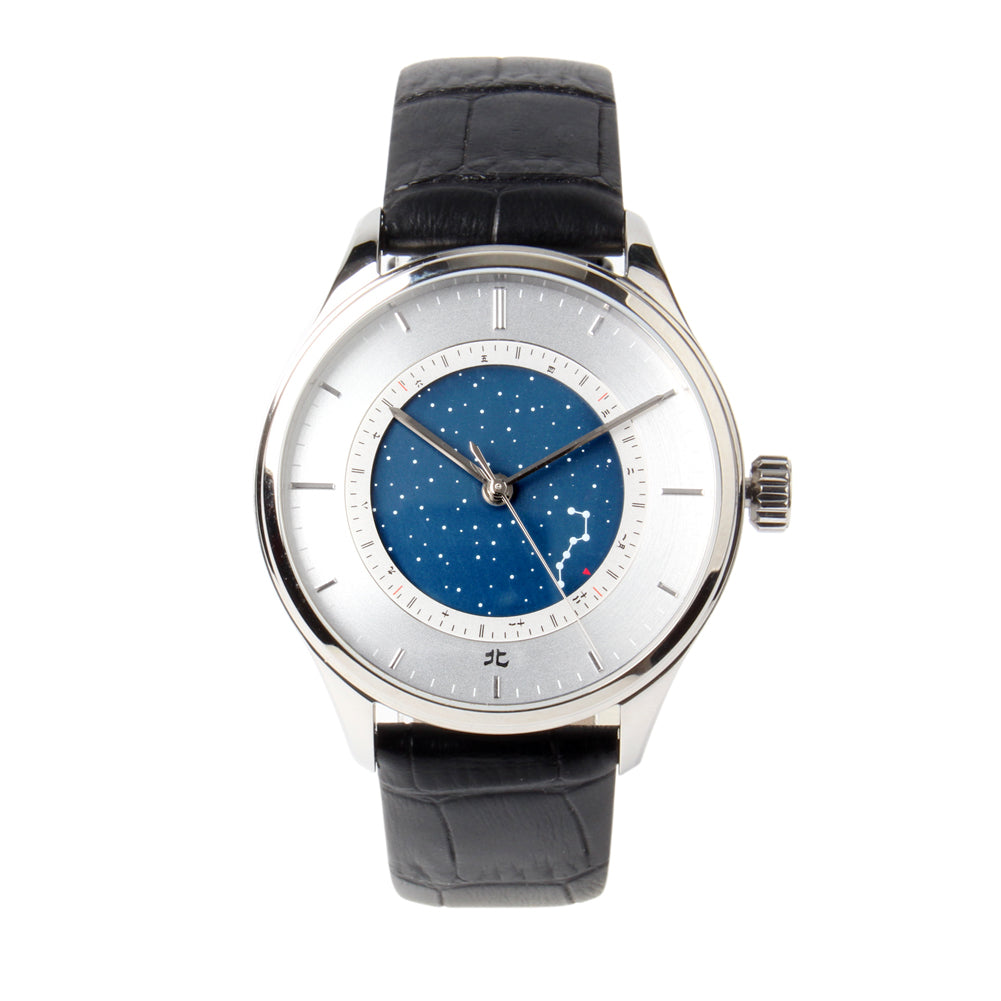 seagull starry sky month indicator dial mechanical watch 40mm