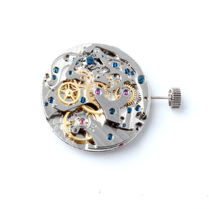 Seagull Manual Winding 2 Register Mechanical Chronograph TY2901 - ST1901 Movement 31.3mm Clock Movement