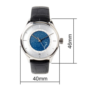 Seagull automatic watch starry sky month indicator mechanical sapphire crystal 819.12.4000 star 40mm