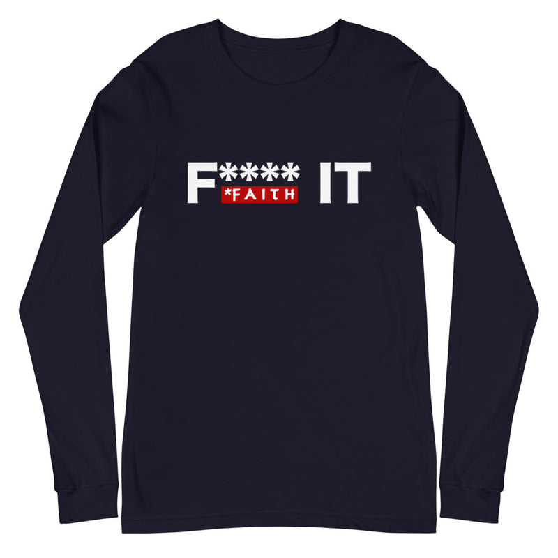 Faith It Long Sleeve Tee
