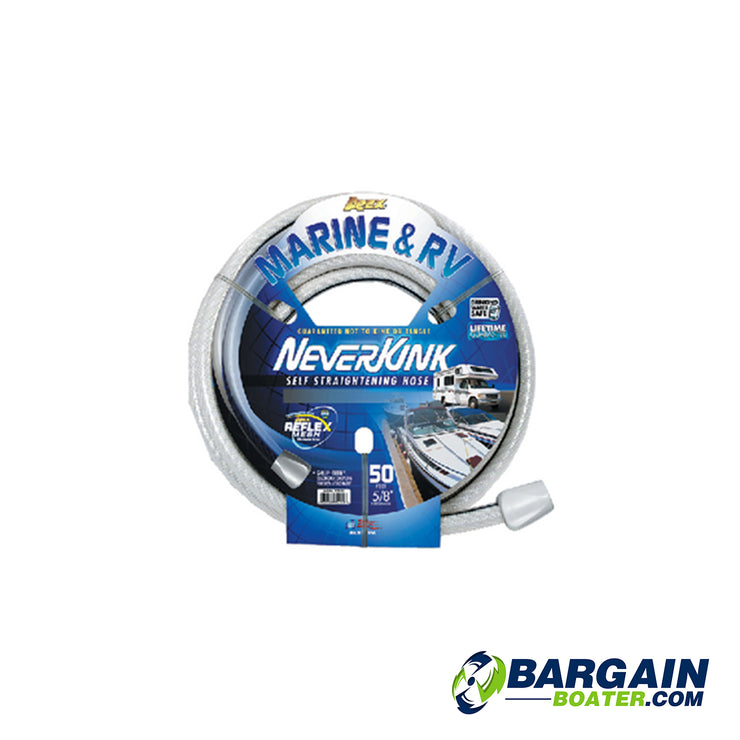Apex NeverKink White Marine And RV Hose