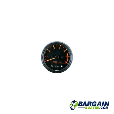 Yamaha Pro Series Tachometer with Two-Stroke Oil Indicators (6Y5-83540-05-00)