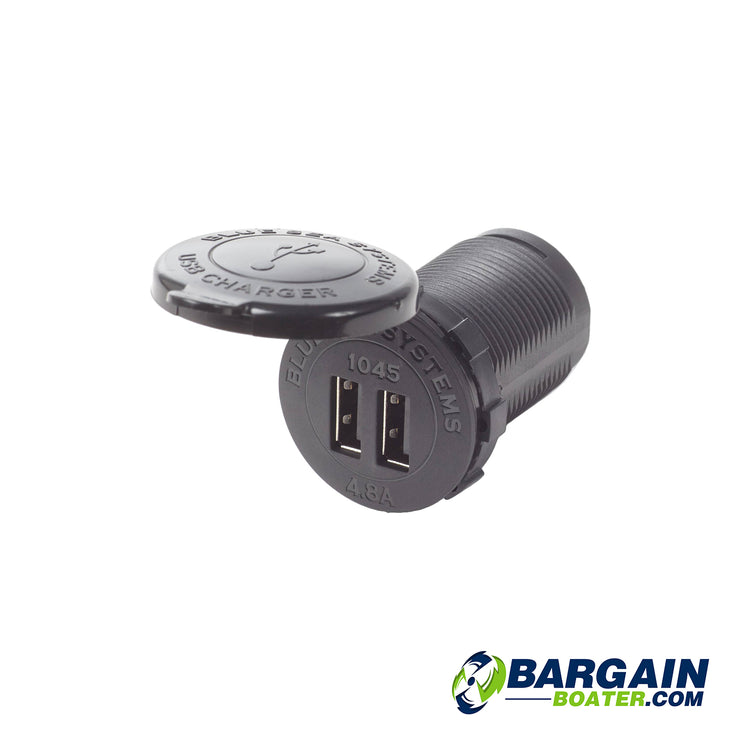 Blue Sea Systems Fast Charge 4.8A Dual USB Chargers