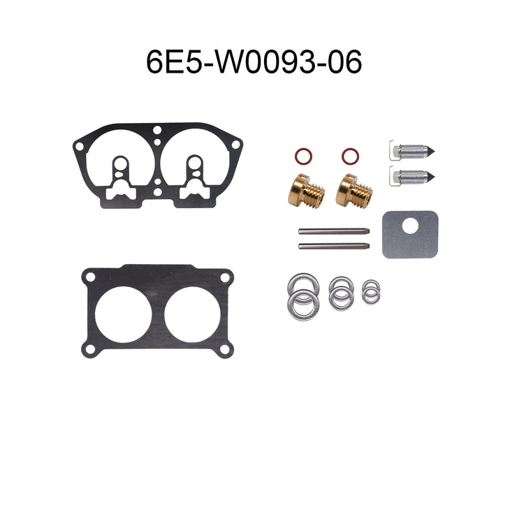 Yamaha 2-Stroke Carburetor Repair Kits (6E5-W0093-06-00)