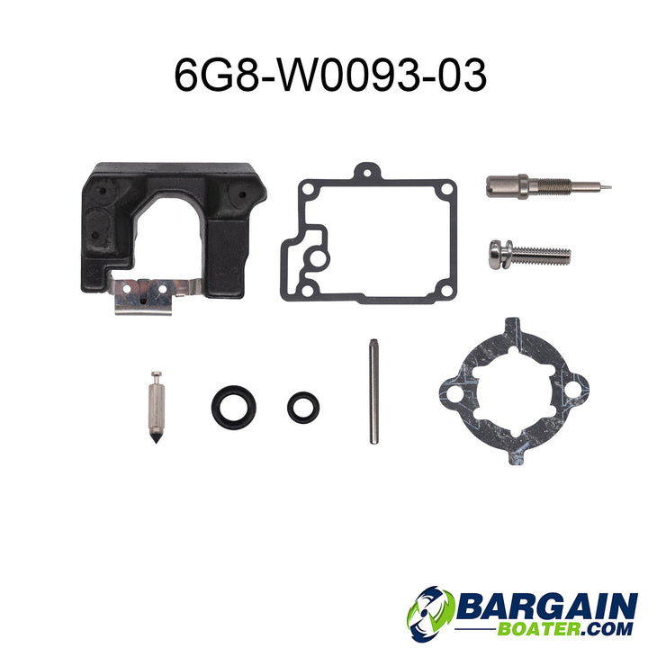 Yamaha 4-Stroke Carburetor Repair Kits (6G8-W0093-03-00)