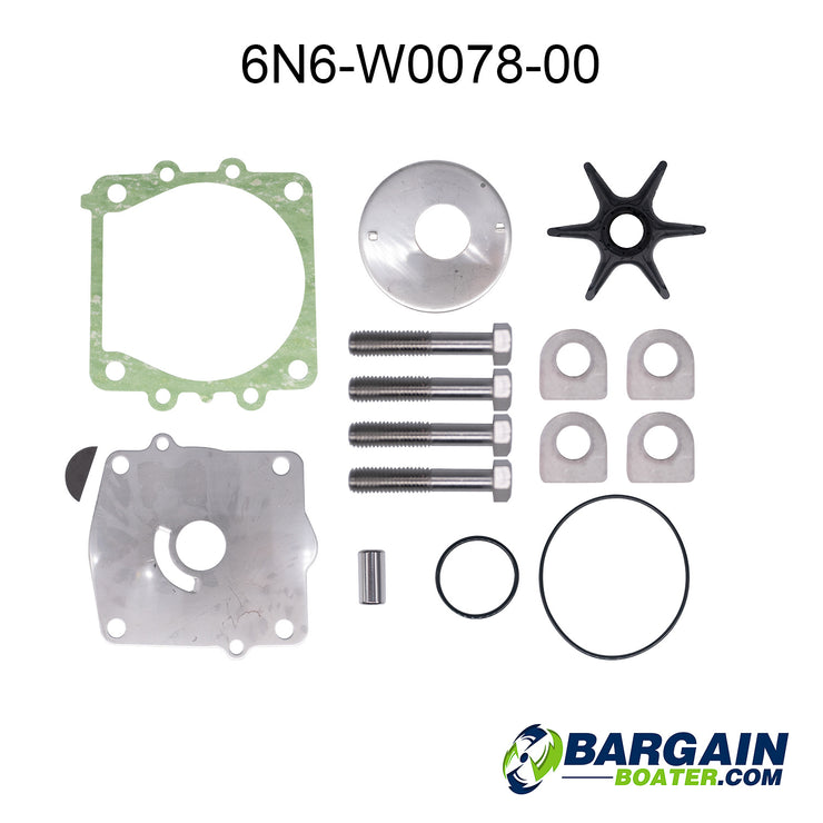 2-Stroke Water Pump Repair Kit (6N6-W0078-00)