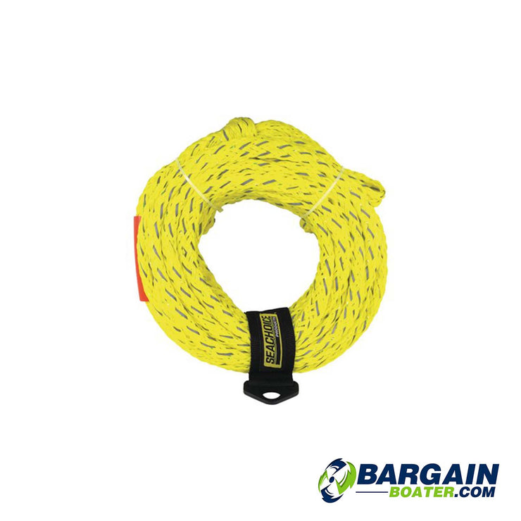 SeaChoice Reflective Tube Tow Rope