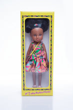 Load image into Gallery viewer, African Queen Mahle Doll - Pink/Gold