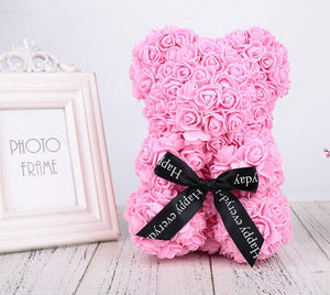 Valentines Romantic Gift Rose Bear