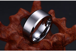Simple Luxurious Titanium Ring For Men