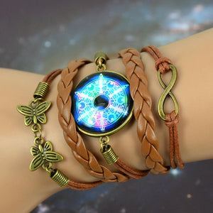 Vintage Inspired Boho Starry Moon Bracelet For Women