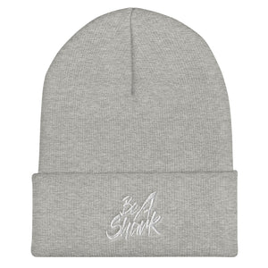 Be A Shark Cuffed Beanie