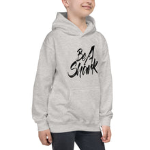 Load image into Gallery viewer, Kids Be A Shark Hoodie