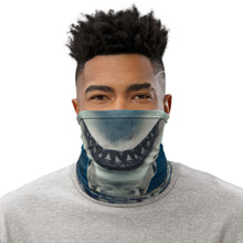 Load image into Gallery viewer, Shark Smile Neck Gaiter
