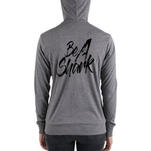 Load image into Gallery viewer, Unisex Be A Shark zip hoodie