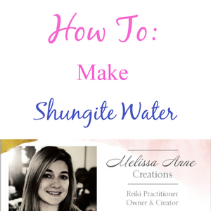 How To: Make Shungite Water