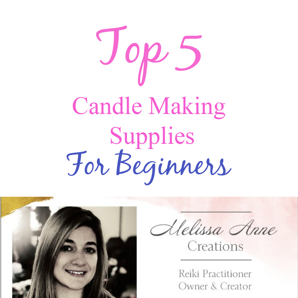 Top 5 Candle Making Supplies for Beginners