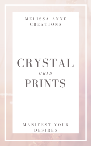Crystal Grid Prints