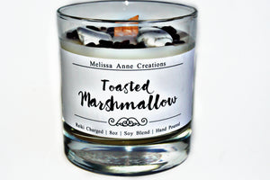 Toasted Marshmallow Crystal Candle
