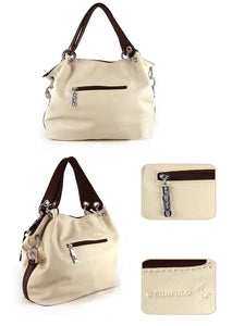 Versatile Soft Bag With Zipper