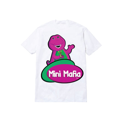 MINI MAFIA TODDLER TEE: WHITE