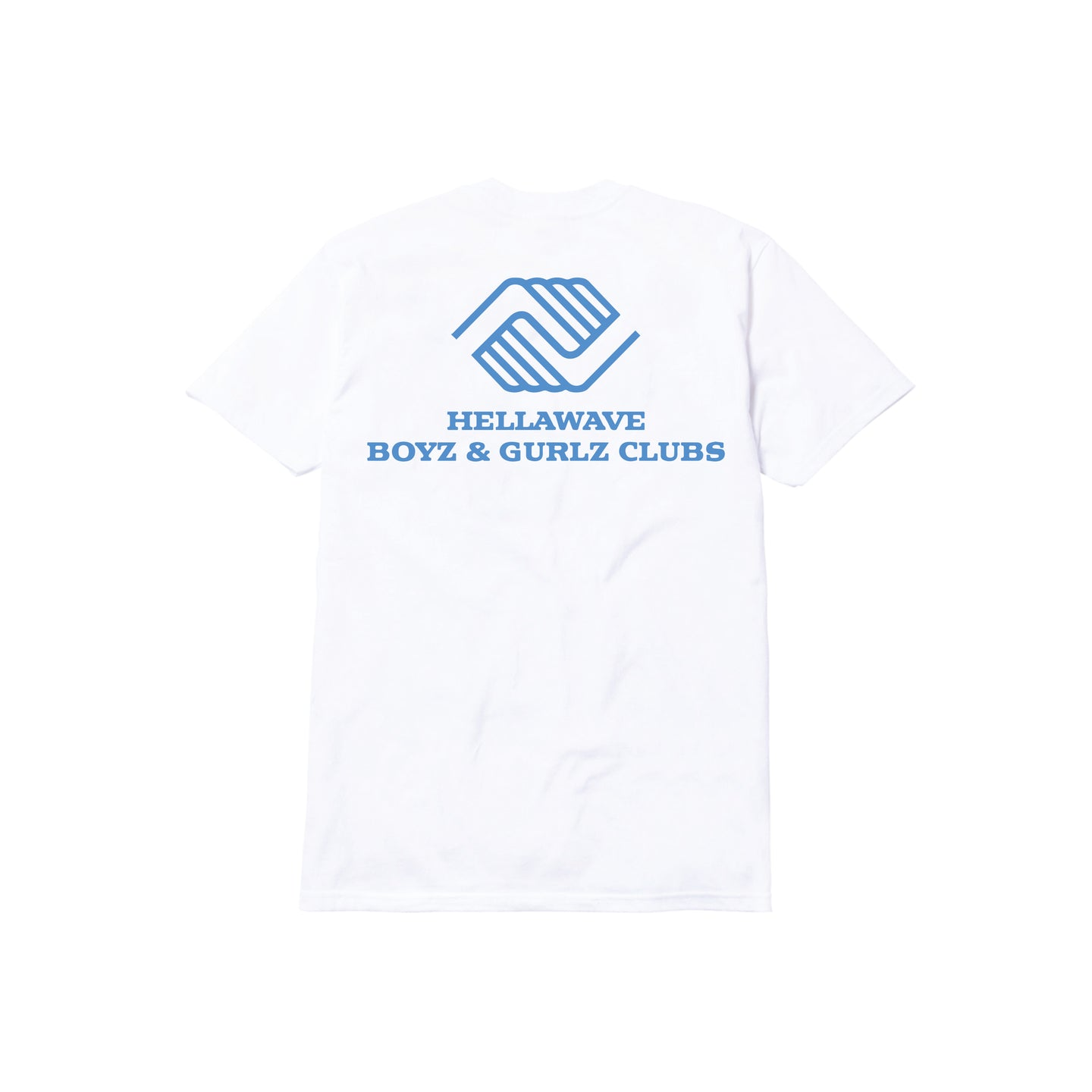 BOYZ & GURLZ CLUB TEE: WHITE