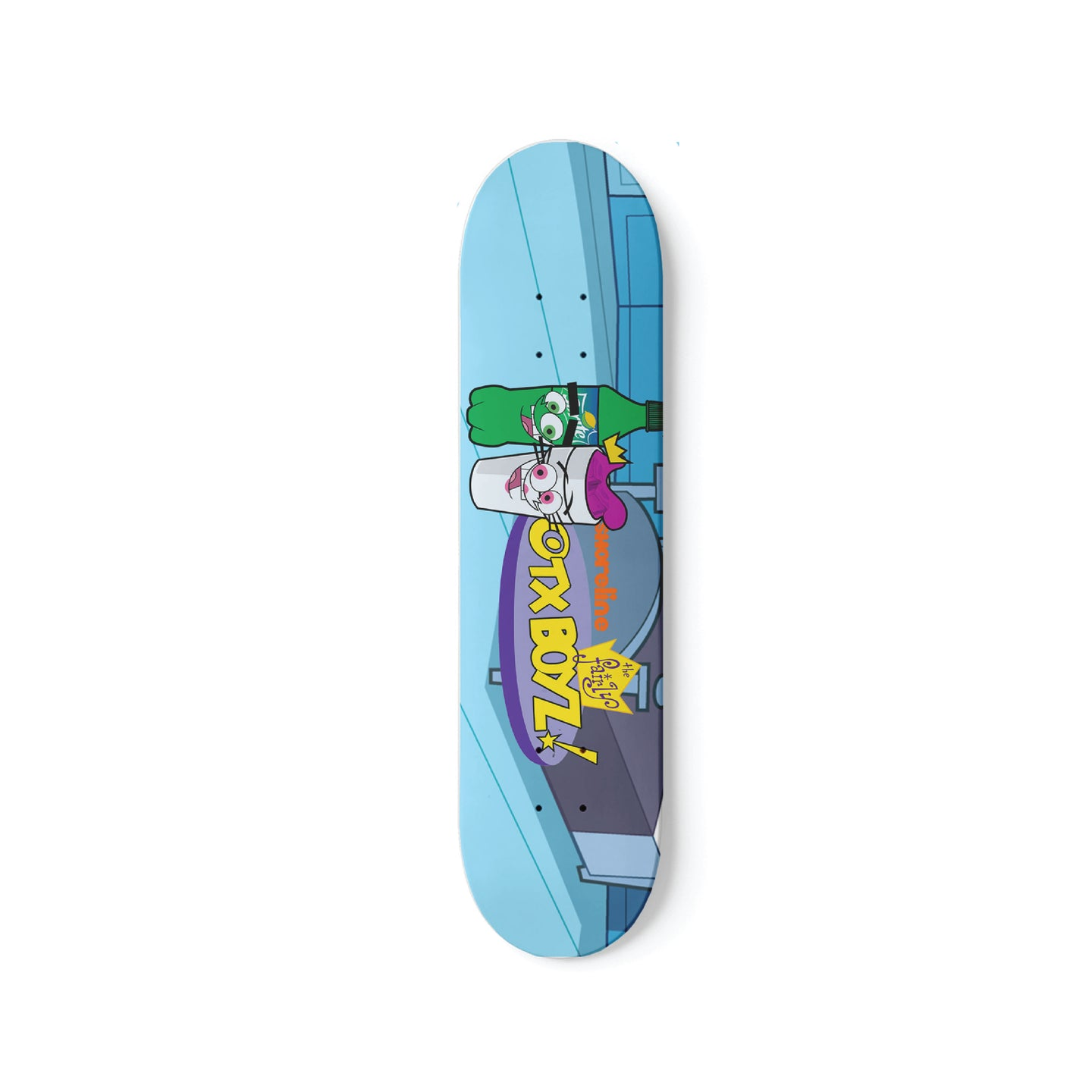 FAIRLY OTXBOYZ SKATEBOARD DECK
