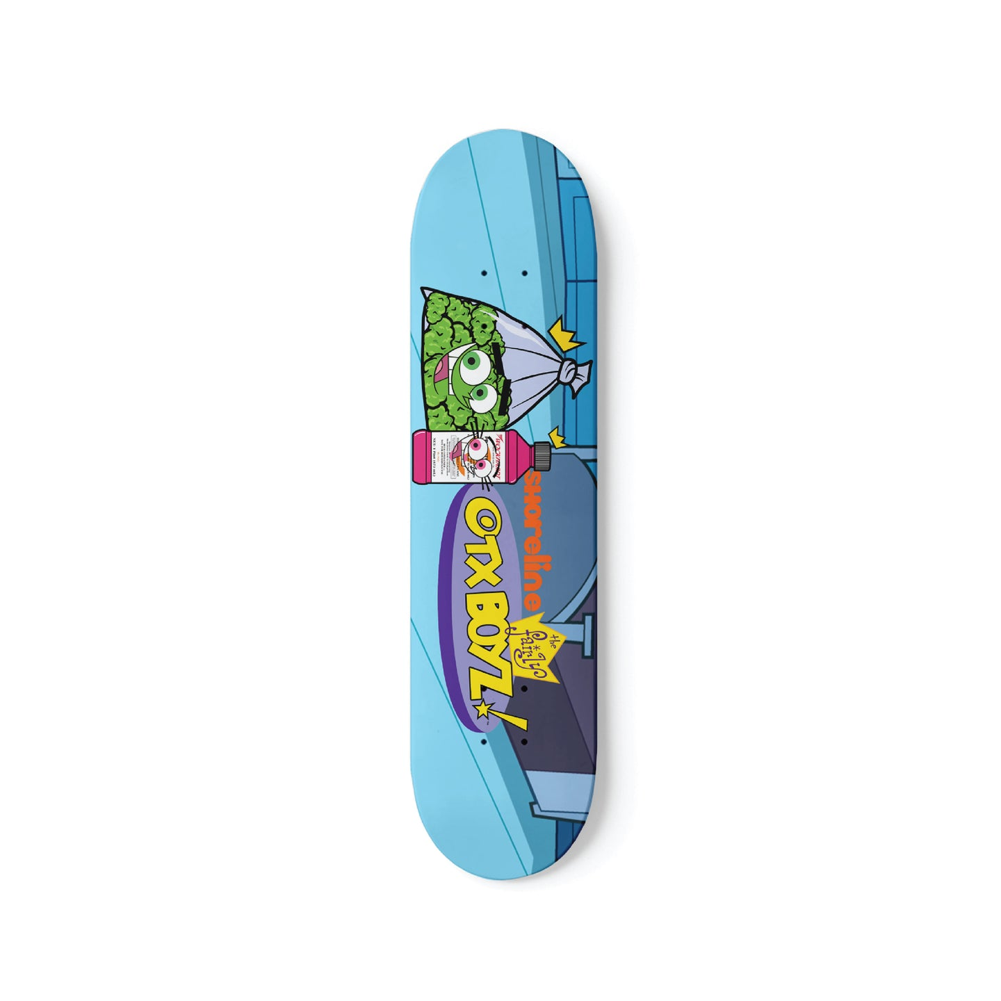 FAIRLY WOCKPARENTZ SKATEBOARD DECK