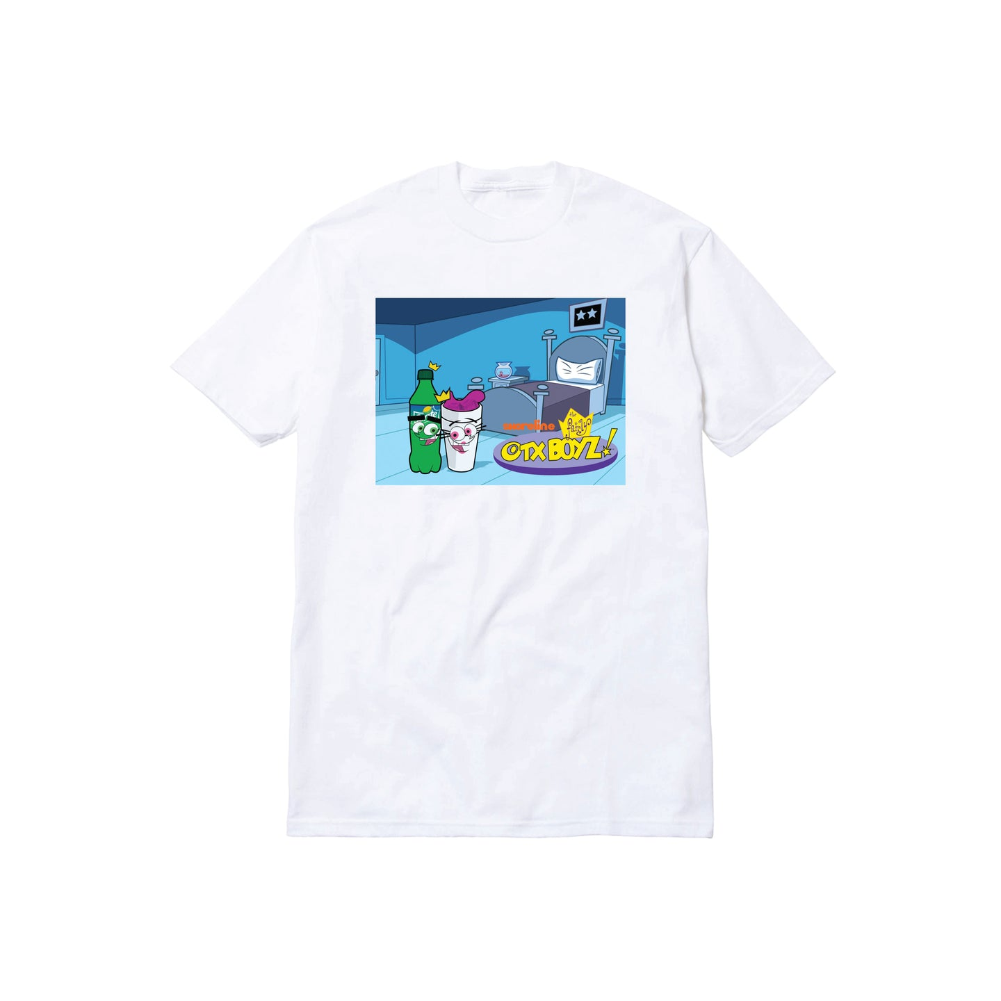 THE FAIRLY OTXBOYZ TEE: WHITE