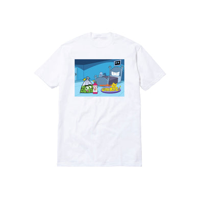 FAIRLY WOCKPARENTZ TEE: WHITE