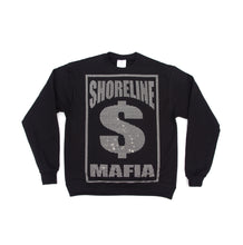 Load image into Gallery viewer, RHINESTONE BUSSDOWN CREWNECK SWEATSHIRT: BLACK