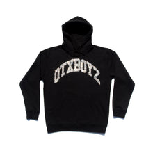 Load image into Gallery viewer, RHINESTONE OTXBOYZ PULLOVER HOODY: BLACK
