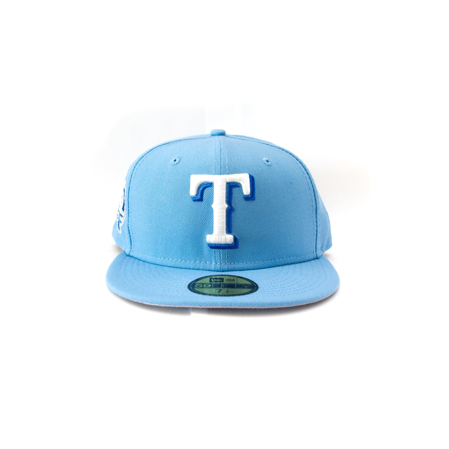 NEW ERA TEXAS RANGERS CAP: BABY BLUE