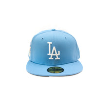 Load image into Gallery viewer, NEW ERA LA DODGERS CAP: BABY BLUE