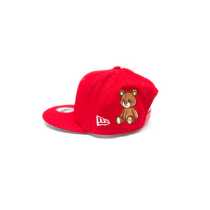 NEW ERA TODDLER WHITE SOX TEDDY SNAPBACK: RED